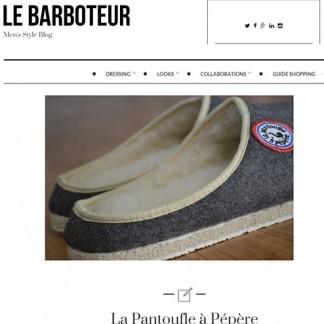 La Pantoufle dans le Barboteur...