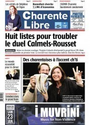 In the newspaper La Charente Libre