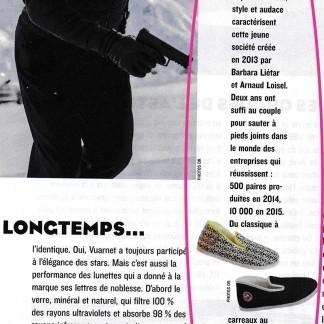 Dans le Figaro, à côté de James Bond...