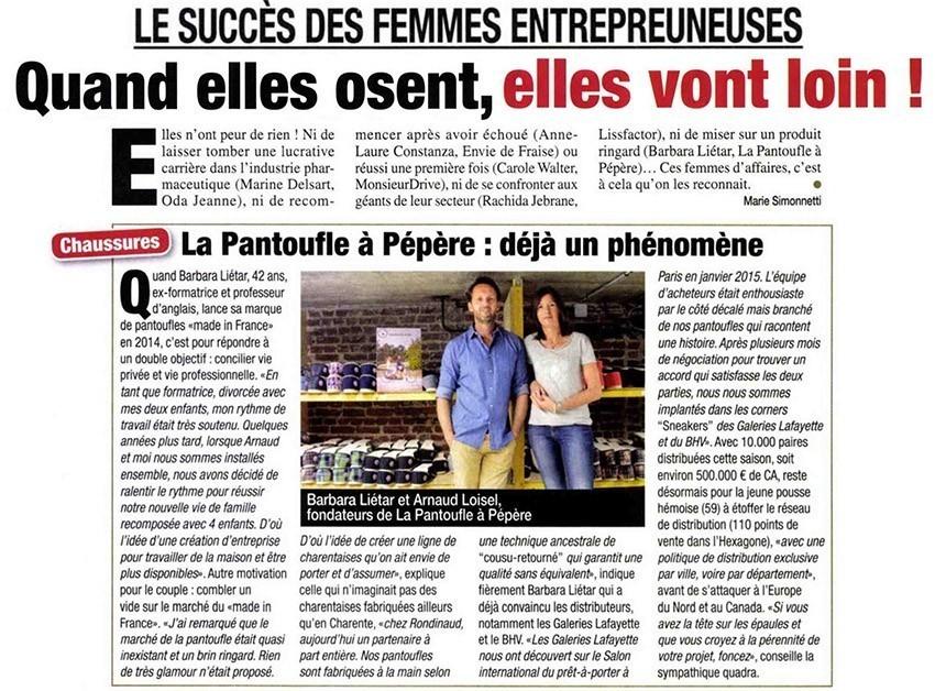 Le succès des femmes entrepreneuses